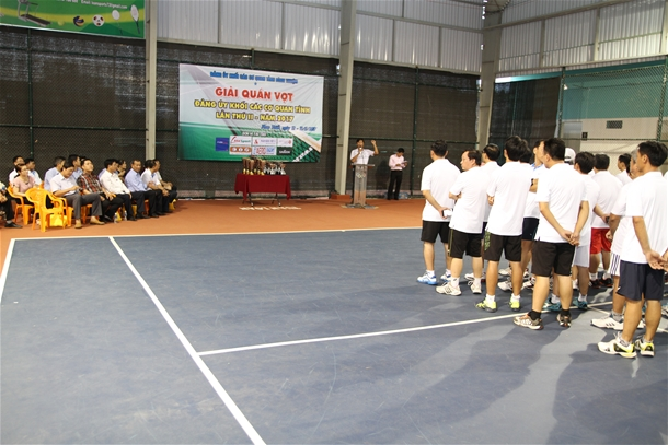 Hình Giải Quần vợt Đảng ủy Khối lần thứ II năm 2017