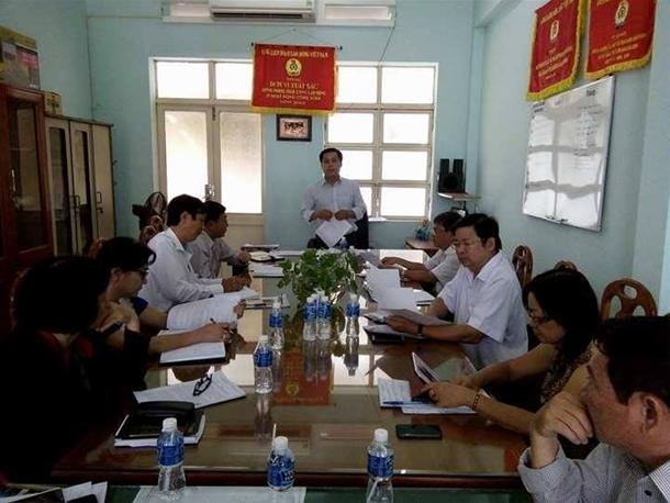 Hình Công đoàn Viên chức tỉnh Bình Thuận tổ chức Hội nghị Ban Chấp hành lần thứ 26 (khóa II)