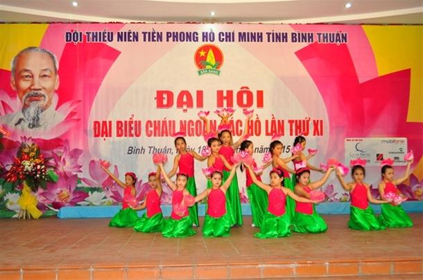 Đại hội Cháu ngoan Bác Hồ tỉnh Bình Thuận lần thứ XI năm 2015